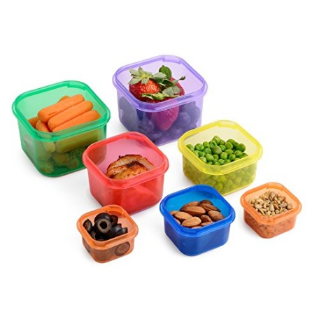 Meal-Prep-Haven-7-Piece-Portion-Control-Container-Kit-with-Guide-100-Leak-Proof-Multi-Colored-System-and-Comparable-to-21-Day-Fix-0